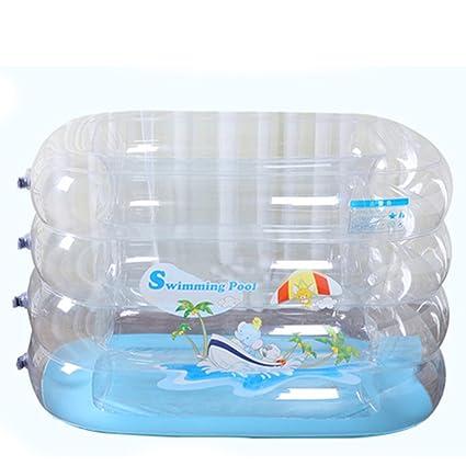 HzhiH-Bañeras y asientos de baño Piscina para Bebés Inflable para Bebés Piscina para Niños