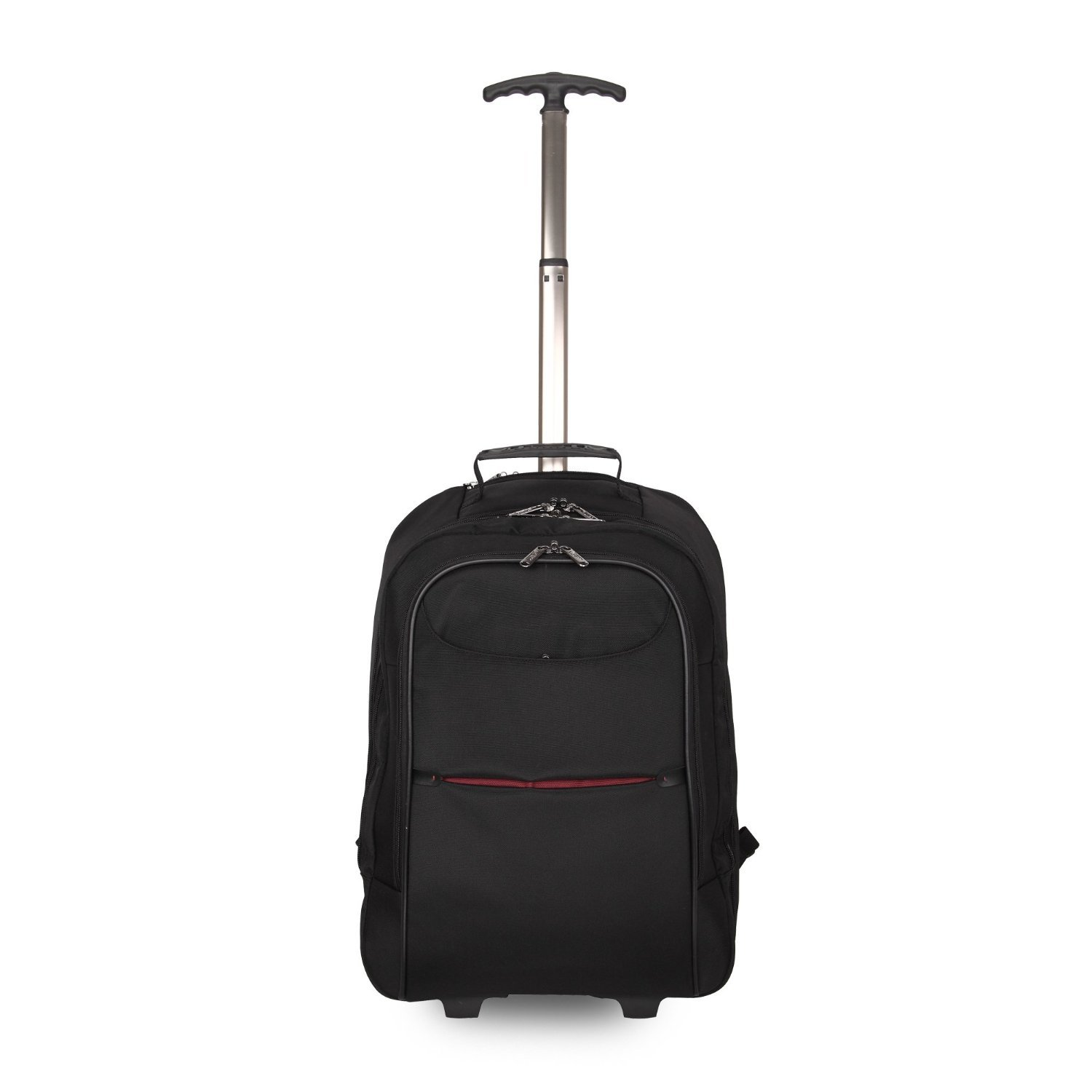 57371872b5e4 Lightweight Wheeled Trolley Backpack | Concealable Shoulder Straps | Cabin  Travel Bag | Hand Luggage | Laptop Trolley Bag