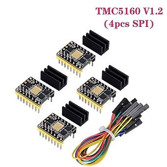 BIGTREETECH TMC5160 V1.0 SPI motor paso a paso de silenciador MKS ...