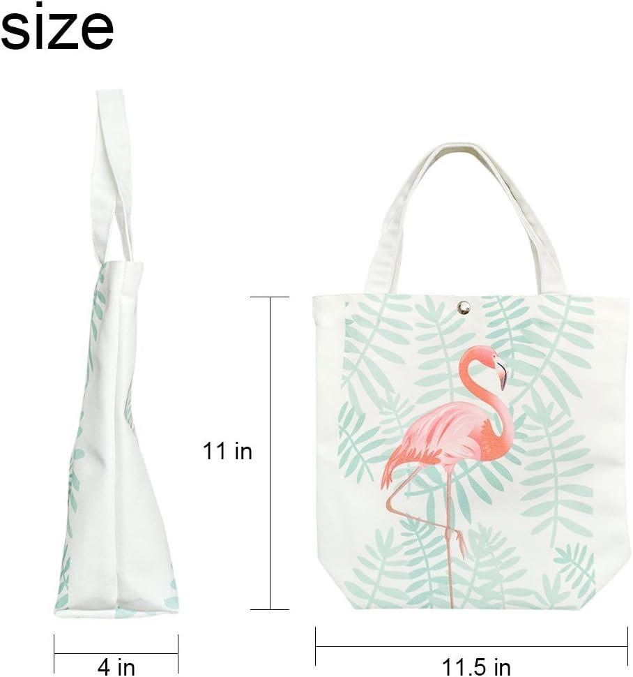 violetpos personnalis/é Canvas Sac /à main Sacs Shopping Sac bandouli/ère cartable sac de d/éjeuner perroquet Fleurs Colibri Vert Feuilles