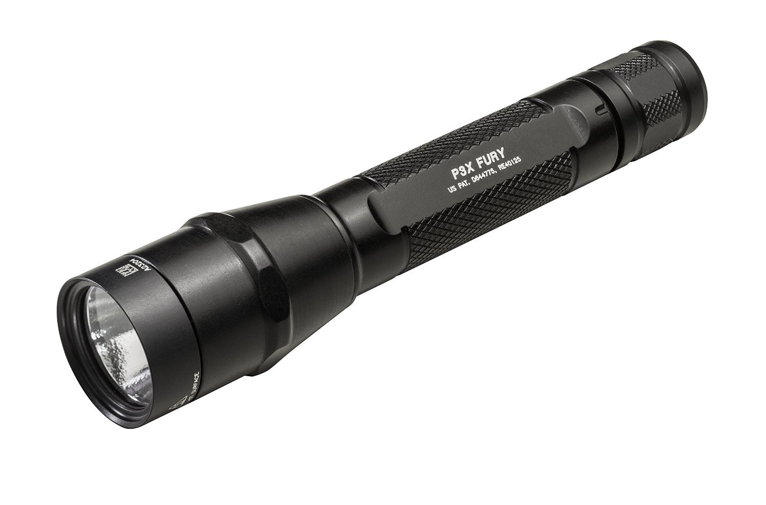 SureFire P3X Fury Dual-Output LED Flashlight with Anodized Aluminum Body, Black by SureFire