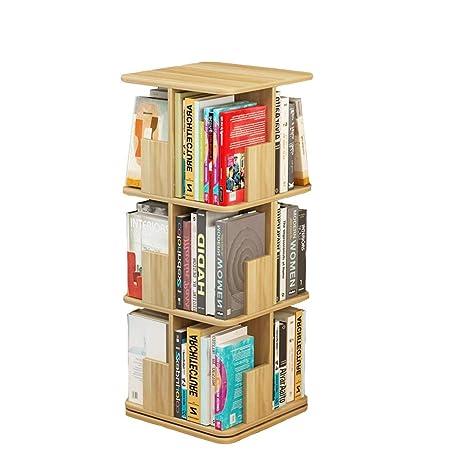 online retailer 4c3b0 b8a57 Amazon.com: Axdwfd Floating Shelves Rotating Bookshelf ...
