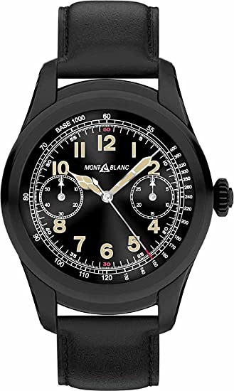 Montblanc Summit Smartwatch Black Steel 117538: Amazon.es ...