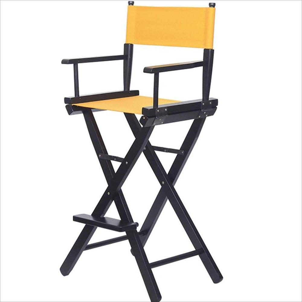 Folding Chair YAN SYF Silla Plegable De Moda De Personalidad De Madera Maciza Silla Silla Silla De Maquillaje Silla Director Director A++ (Color : A)