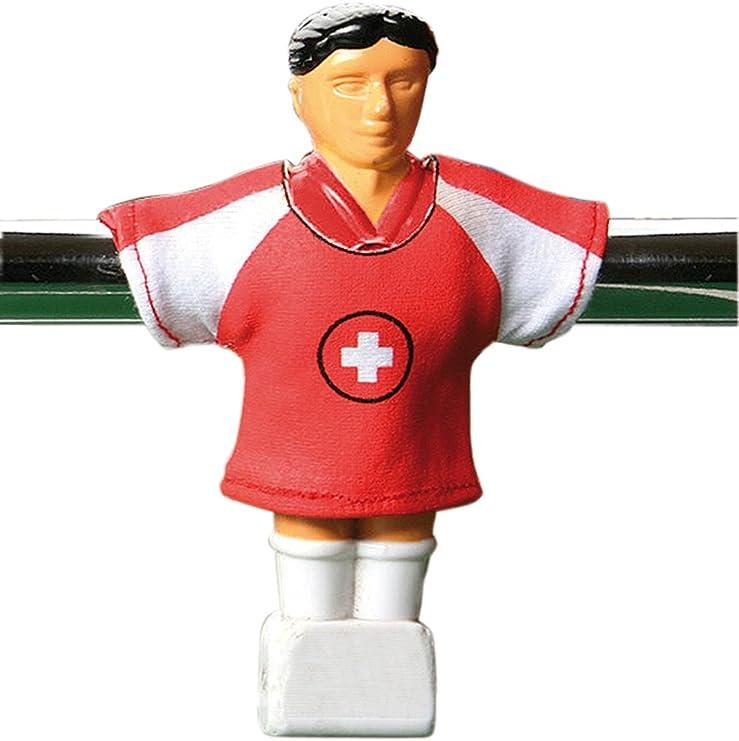 Camiseta del Suiza para galletas, diseño del fútbol Futbolín: Amazon.es: Deportes y aire libre