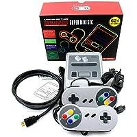 Mini Retro TV Consola de videojuegos HDMI 8 bits incorporado 621 Juegos clásicos Handheld Kid Regalos de Navidad