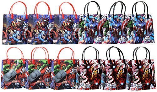 Marvel Avengers Party Favor Goodie Gift Bag - 8