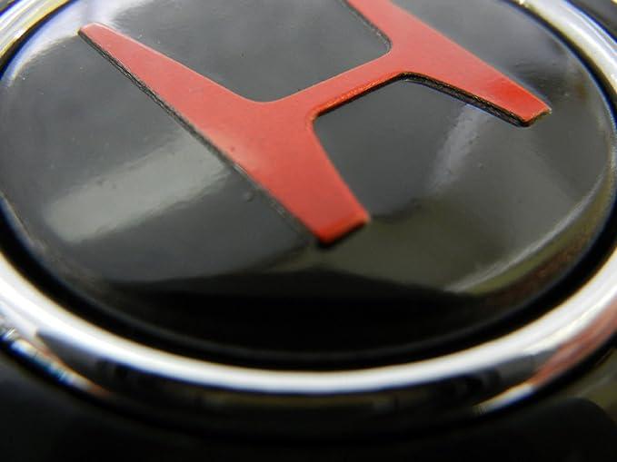 Amazon.com: Honda Volante Botón de cuerno en negro para ...