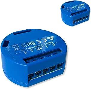 Shelly 1 - Actuador Wi-Fi (16 A, 2 Unidades)