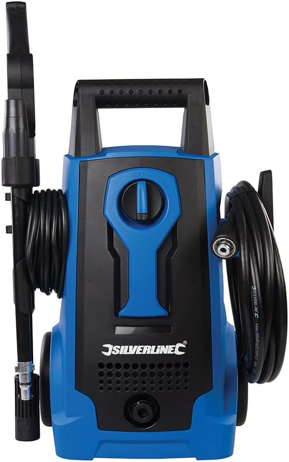 Silverline Pressure Washer Jetwash Power Cleaner 2100W 165bar Warranty