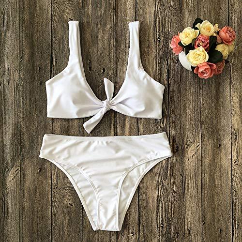 Bañadores De Push Ropa Mujeres Baño Sujetador Playa up Natación Beach Acolchado Dos Set Bikini 2019 Mujer Mosstars Traje Halter Sexy Blanco Trajes Piezas rrYSdRwq8