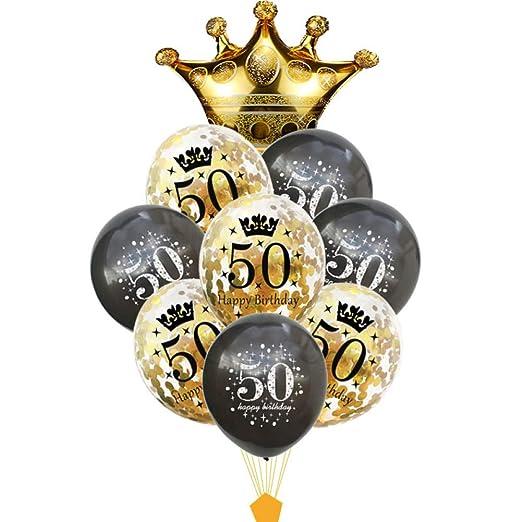 MTCTK 30 40 50 60 70 80 Años Globo De Cumpleaños ...