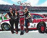 AUTOGRAPHED 2012 Michael Waltrip #55 ALABAMA NATIONAL CHAMPIONS (Talladega) Signed 8X10 NASCAR Glossy Photo w/ COA