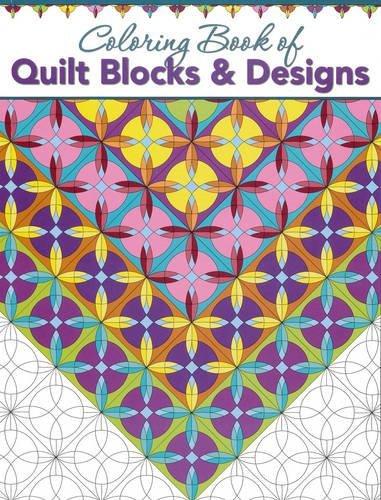 Quilt Block Design (Coloring Book of Quilt Blocks & Designs)