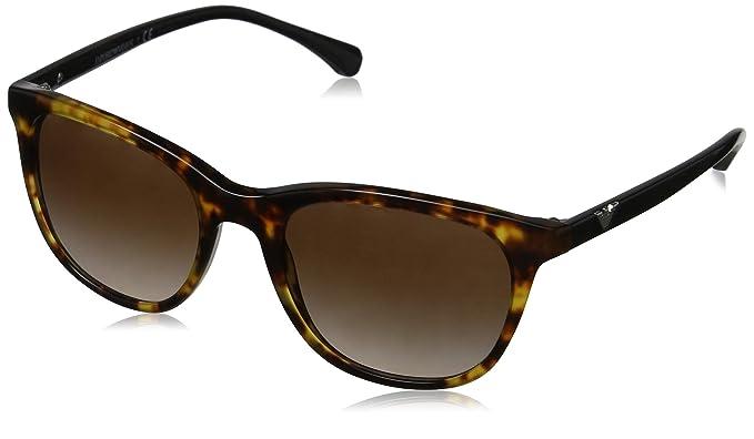 Emporio Armani 0EA4086 Gafas de Sol, Blonde Havana, 54 para ...