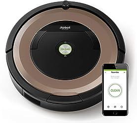 iRobot Roomba 895 - Robot Aspirador Óptimo para Mascotas, Succión 5 Veces Superior, Cepillos