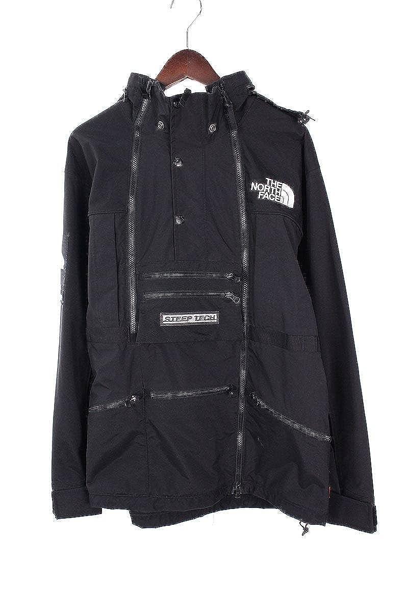 (シュプリーム) SUPREME ×ノースフェイス/THE NORTH FACE 【16SS】【Steep Tech Hooded Jacket】マルチポケットマウンテンパーカージャケット(M/ブラック) 中古 B07FMQXYLY