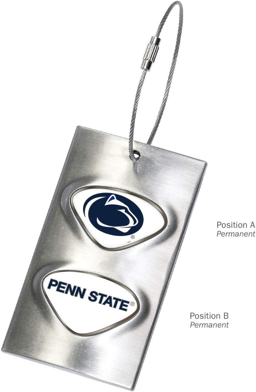 AdSpec NCAA Fan Shop Collegiate Luggage Tag