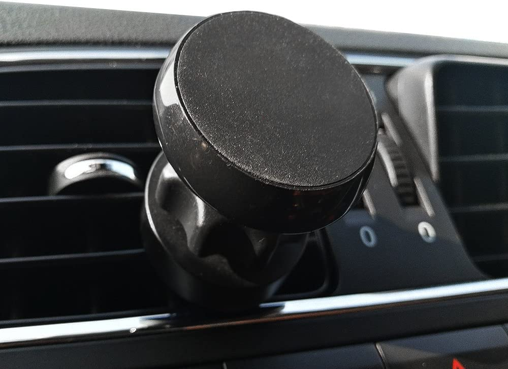 PUNCIA Magnetic Mount Universal Air Vent Magnetic Car Mount Phone Holder,Compatible with iPhone X Galaxy Note 9 8 and More