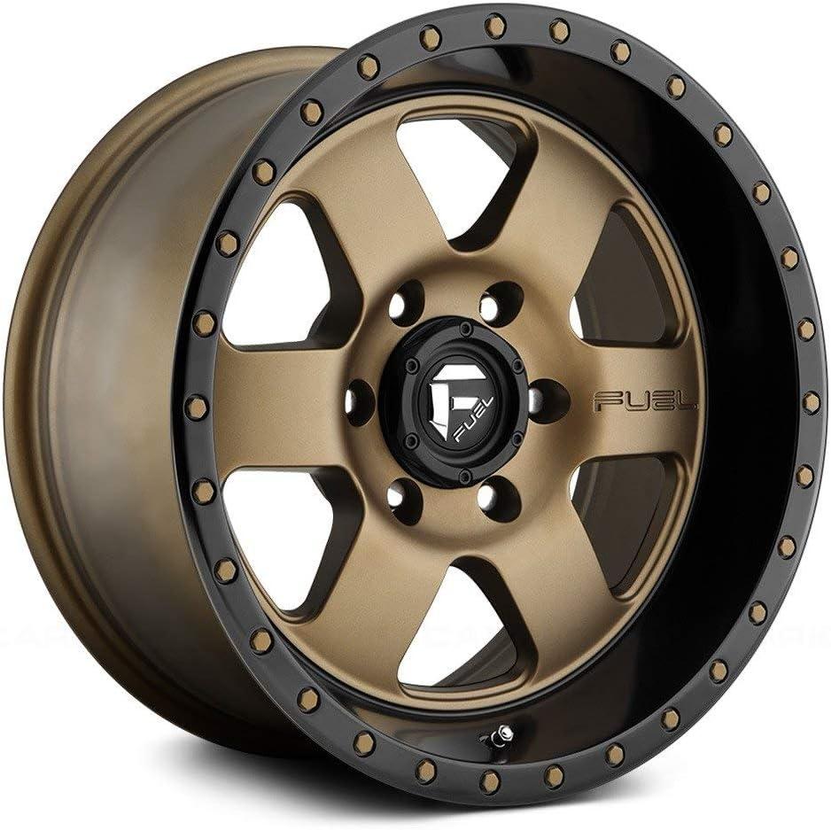 Fuel D617 Podium 18x9 6x139.7 1mm Bronze Wheel Rim