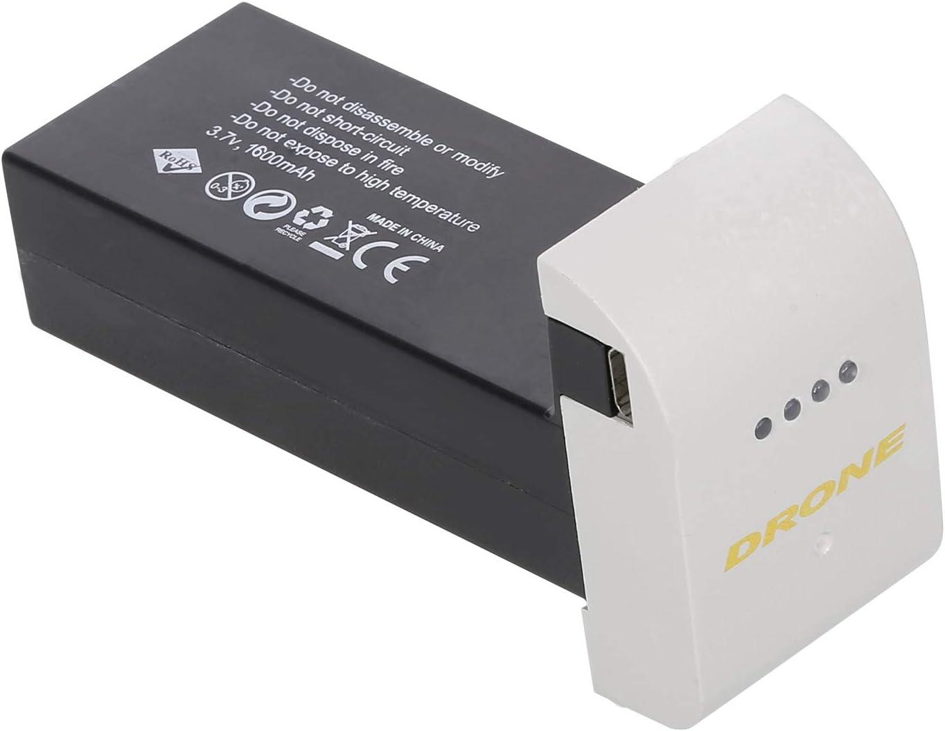 5Pcs 3.7V 1600mAh Lipo Battery High Capacity For Drone RC Quadcopter Parts