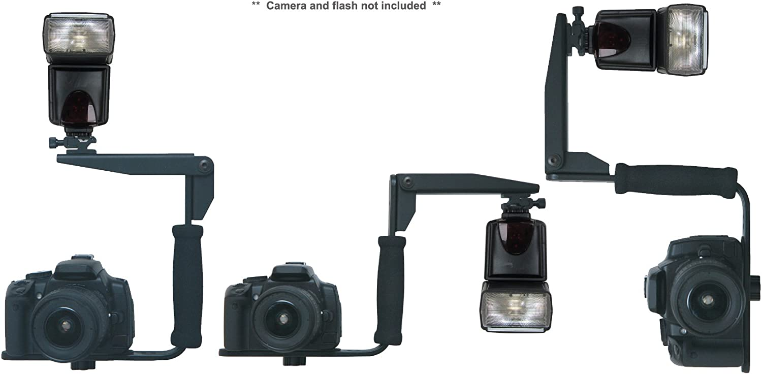 180 Degrees PivPo Pivoting Positioning Nikon Shoe Hila Nikon D300 Flash Bracket