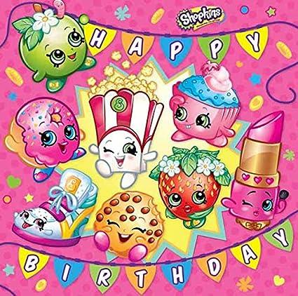 Amazon.com : Shopkins Happy Birthday Card : Office Products