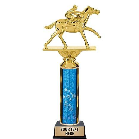 12quot Horse Racing Trophy Award