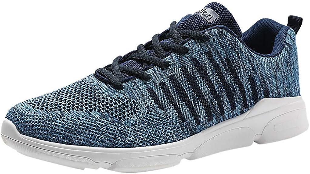 Zapatillas de Running para Hombre Aire Libre y Deporte Transpirables Moda Casual Comodo Talla Grande Zapatos Gimnasio Correr Ligero Sneakers Absorción de Choque Zapatos para Correr vpass: Amazon.es: Zapatos y complementos