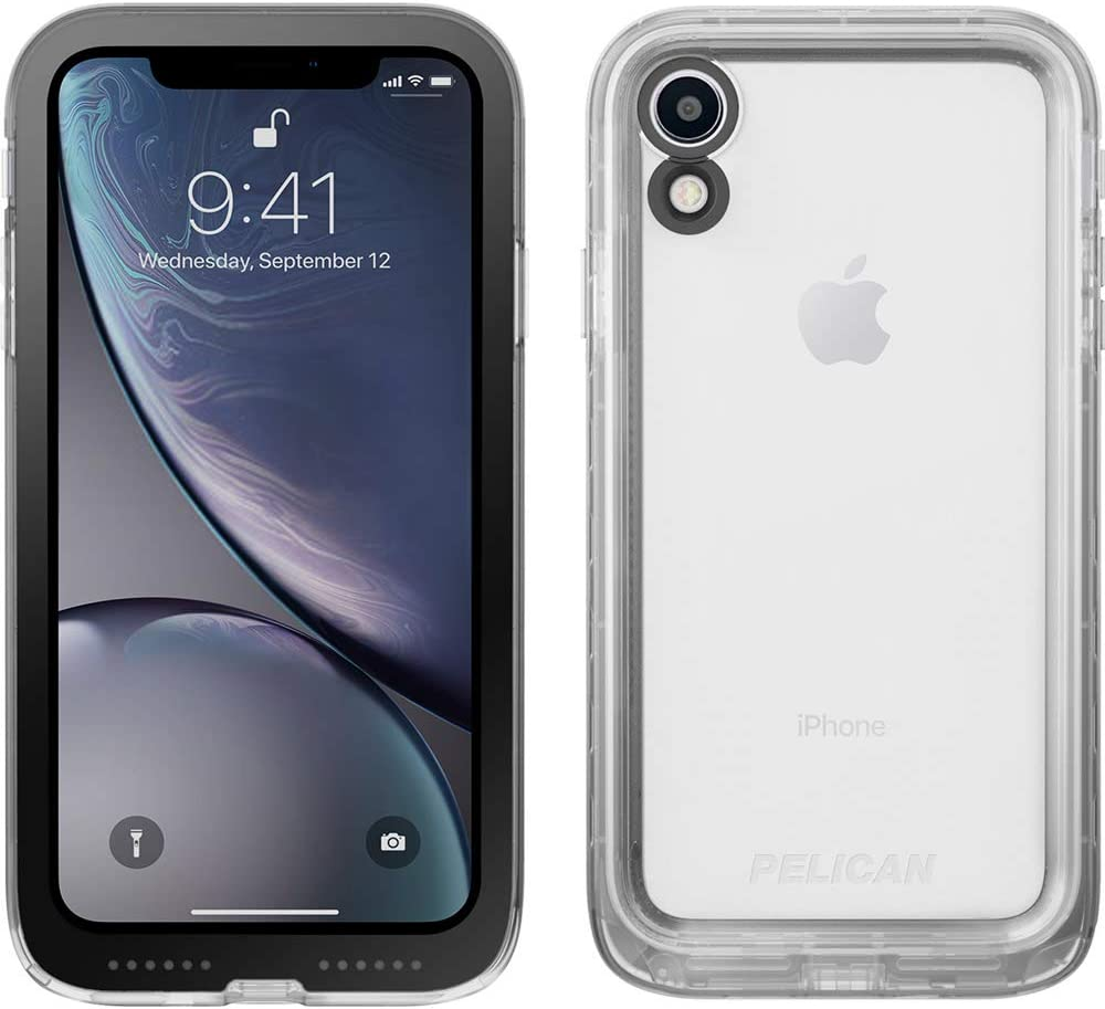 Pelican Marine Waterproof Case For iPhone XR (ONLY) - Clear