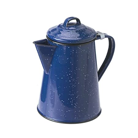 Amazon GSI Outdoors 15134 Coffee Pot 3 Cup Blue Camping And Tea Pots Kitchen Dining