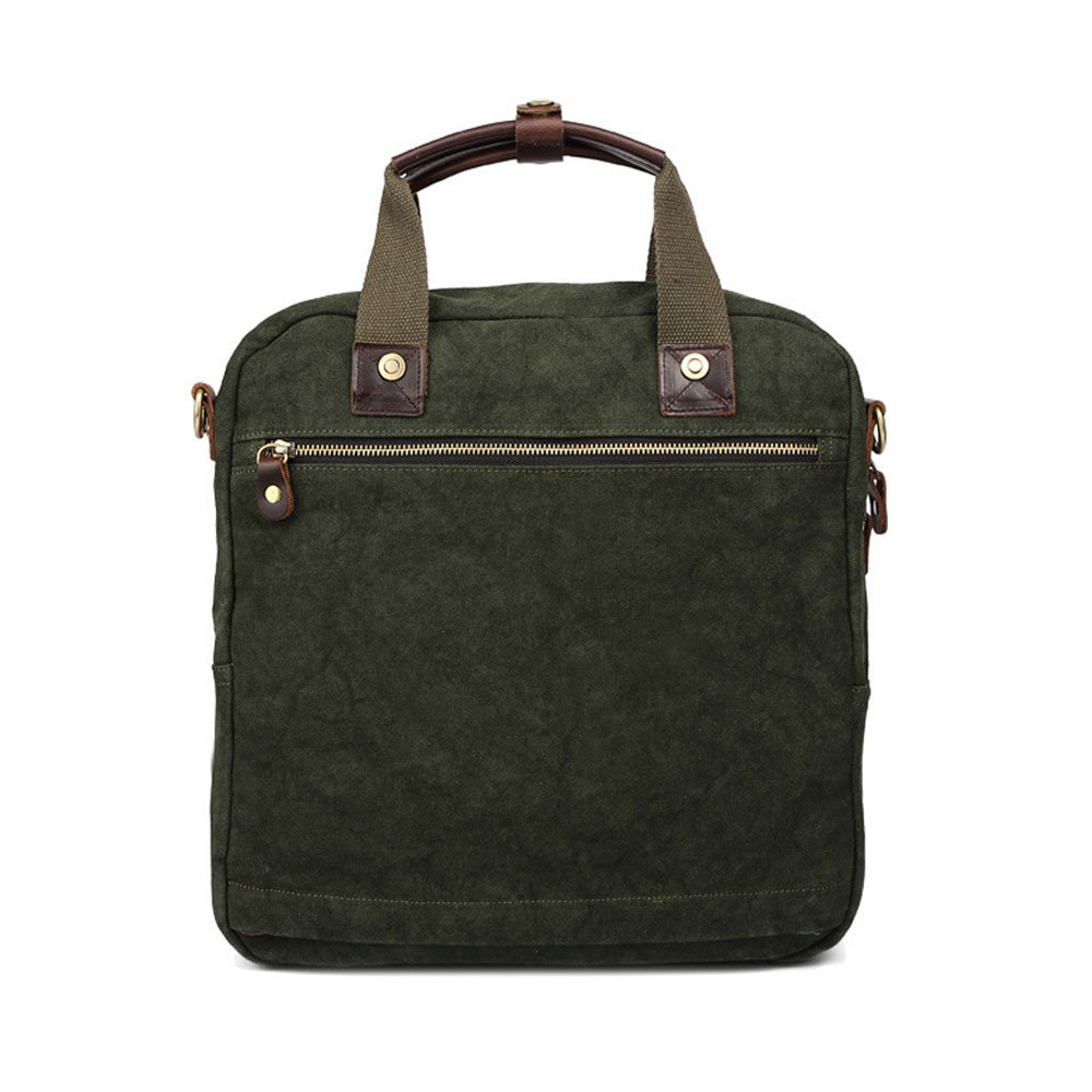 Multi-Color Optional 33 35 9cm Business Briefcase LBYMYB Canvas Bag European and American Style Fashion Casual Mens Handbags Documentary Computer Mens Bag Color : Blue