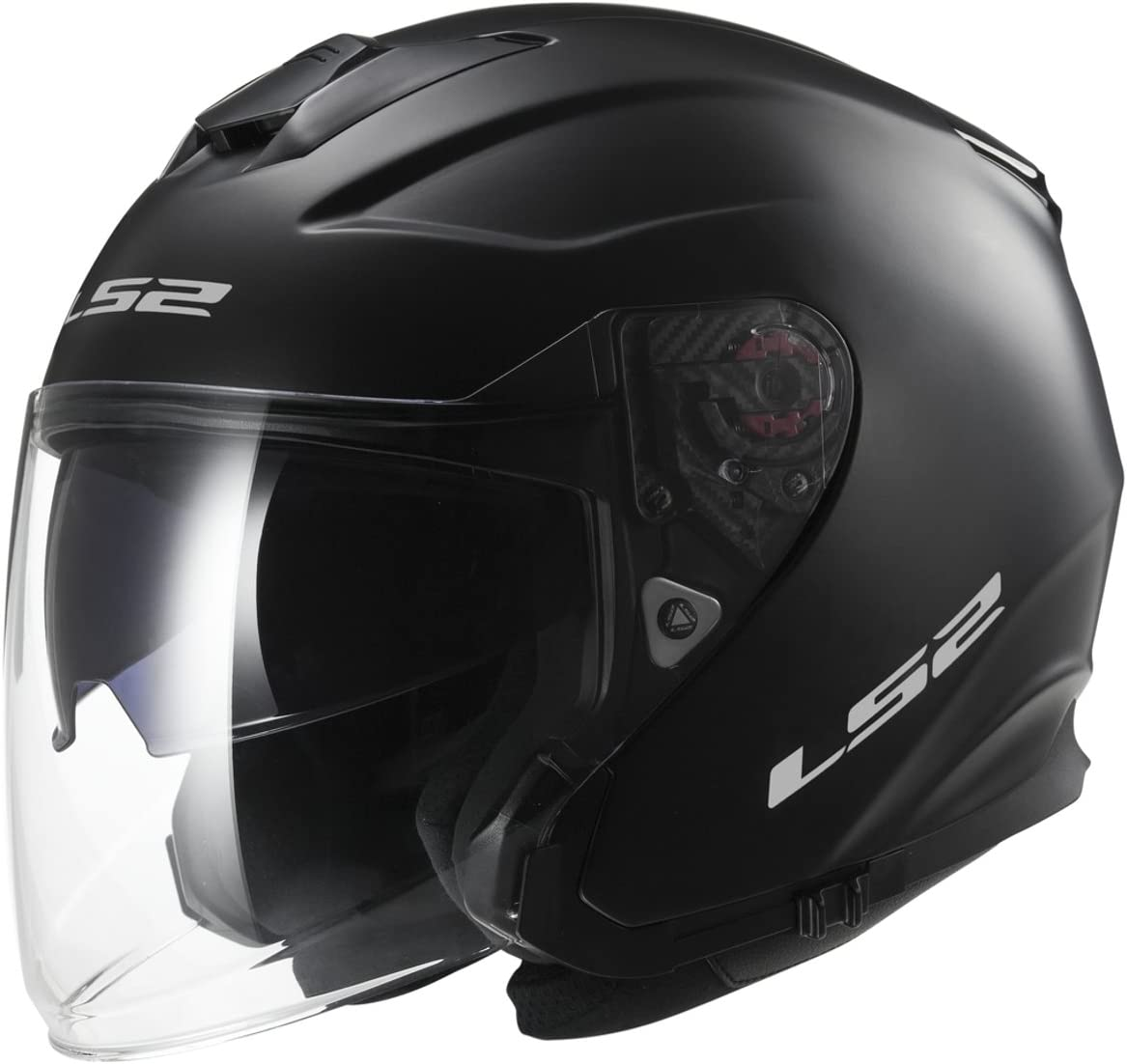 LS2/Helm of521 XXS Matt Black