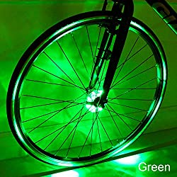 """BE COOL, RIDE IN STYLE; TRANSFORM YOUR BIKE WITH CYBORG WHEEL LIGHTS! """"Your search for the best Wheel Light is finally over! Don't Wait, Buy Now! Make Your Bike Awesome INSTANTLY! """"  Features: - Cyborg Wheel lights fit more bikes than any other model..."""