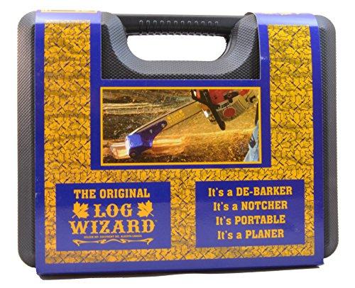 Log Wizard Debarking Tool, Model# LogW-4000 with Hard Case (Tool Debarking)