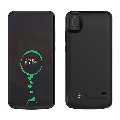 Funda Batería Huawei P20 Pro, BasicStock 5000mAh Batería Externa Recargable Ultra Delgada Protector portátil Carga caso de prueba de choque para ...