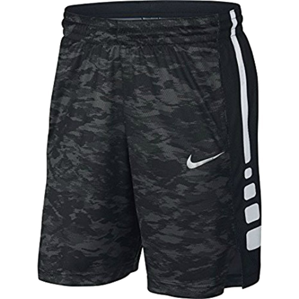 Nike Mens Elite Stripe Plus Basketball Shorts