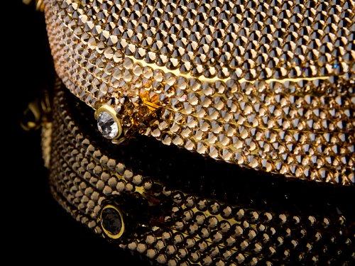 Swarovski Elementi Glamour Oro Andante Borsetta Con color 7500 Crystallized Elements stones Oltre Tm wSw0FqZx