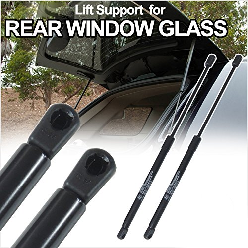 Alxiang Brand New 2pcs Rear Window Glass Gas Lift Supports Strut Shocks Fit Chevrolet 1983-1994 S10 Blazer & GMC 1983-1994 Jimmy / 1983-1994 S15 Jimmy & Oldsmobile 1991-1994 Bravada