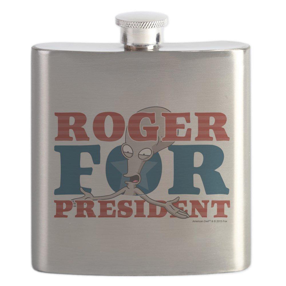 人気を誇る CafePress – Roger B01IUKHZ4U for CafePress President – – ステンレススチールフラスコ、6オンスDrinkingフラスコ B01IUKHZ4U, CLAMP:3856821a --- a0267596.xsph.ru