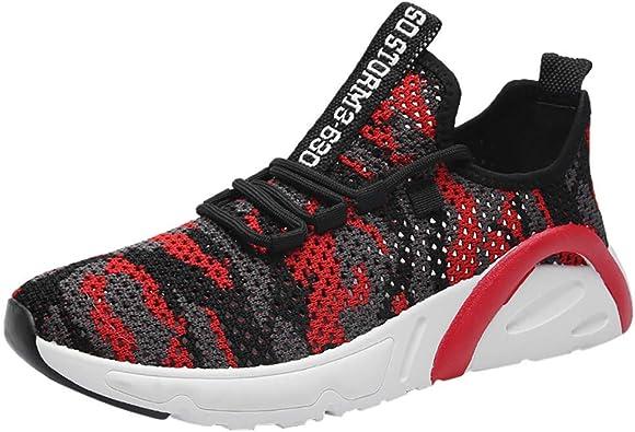 OPAKY Zapatillas Hombres Deporte Running Sneakers Zapatos para Correr Zapatillas Deporte Calzado Cómodo de los Hombres, Transpirable, Zapatos para Correr, Zapatillas de Deporte: Amazon.es: Zapatos y complementos