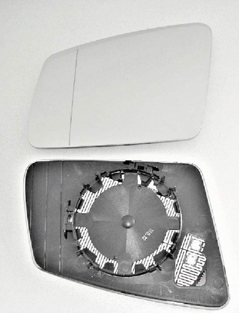 Achtung Nicht Automatisch Abblendbar Erst Ab Facelift 2009 Pro Carpentis Spiegel Spiegelglas Links Kompatibel Mit W212 S212 Und W204 S204 Ab Facelift 2009 Beheizbar Auto