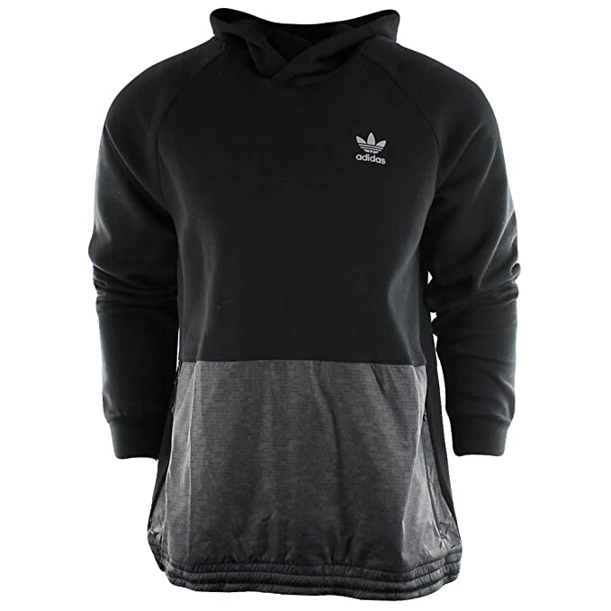 adidas Originals Men's Sport Luxe Mixed Fabric Hoodie