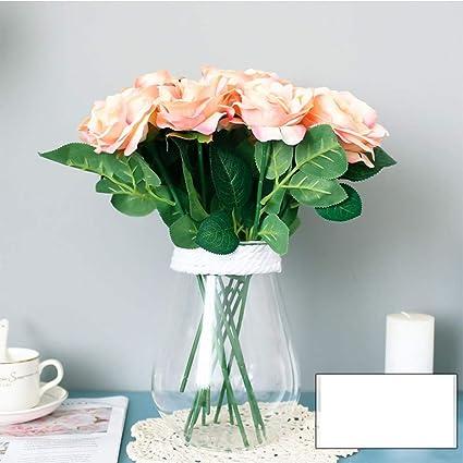 Decoración de Interior Floral de la Flor de la Tabla de la Sala de Estar del