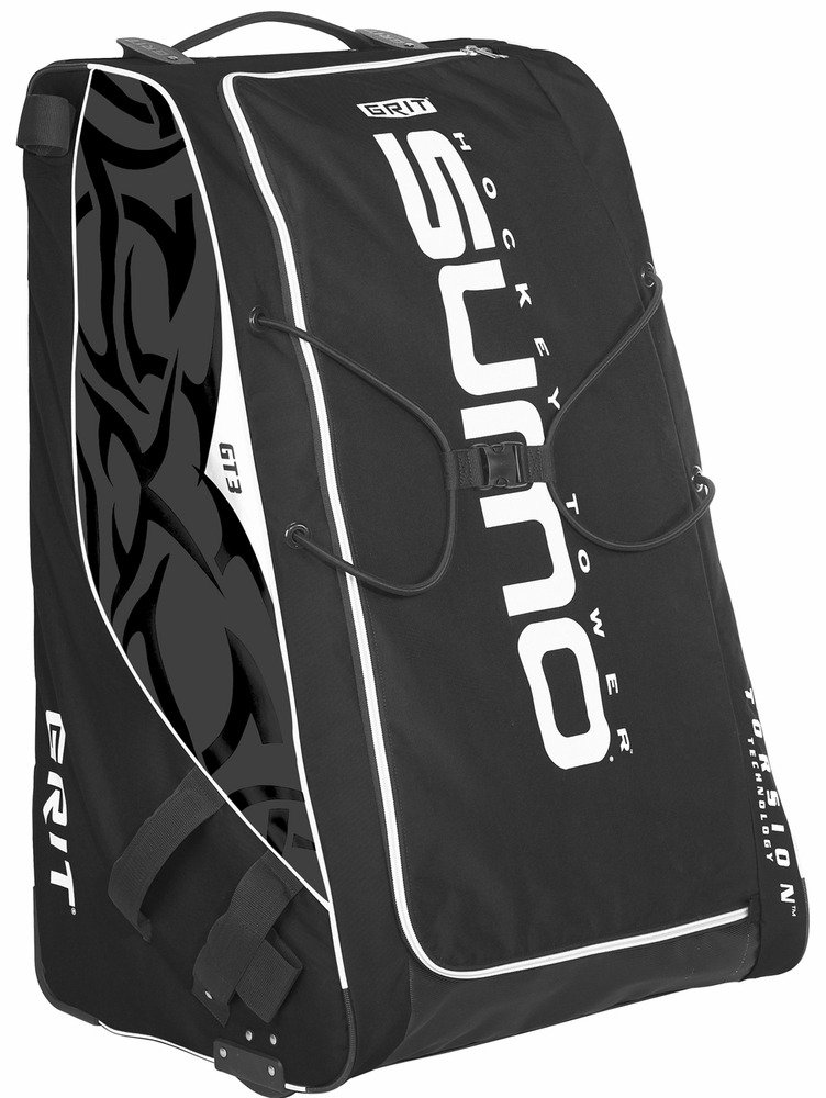 Grit Inc. GT3 SUMO Goalie Hockey Tower Bag 40-Inch Black GT3-040-B by Grit