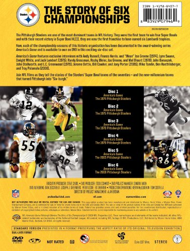 NFL: America's Game - Pittsburgh Steelers: The Story of Six Championships from NFL