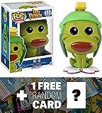 K-9: Funko POP! x Duck Dodgers Vinyl Figure + 1 FREE American Cartoon Trading Card Bundle (098872)