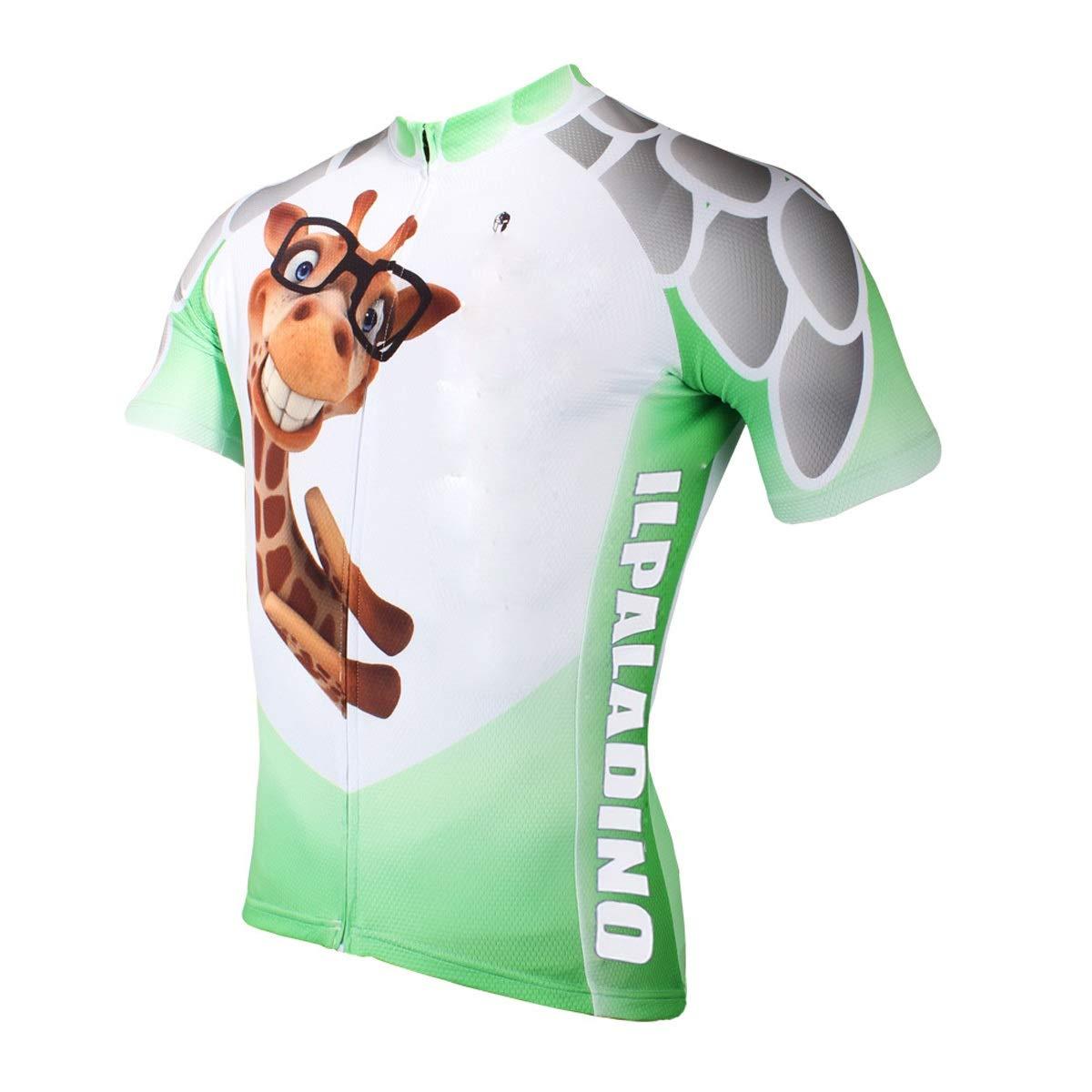 Bike Jersey Cute Summer Kurzarm-Trikotanzug Weibliche Mountainbike-Trikot Männer Fahrrad Reitanzug Fahrradtrikot LPLHJD