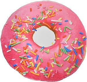 Super Soft Pink Sprinkles Donut Throw Blanket 60
