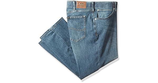 Amazon.com: LEE pantalones vaqueros de corte holgado para ...